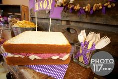 Peanut Butter and Jelly Party...fun kids birthday idea