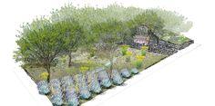RHS Chelsea Flower Show 2016 : L'Occitane Garden design by James Basson - Garden Design Journal