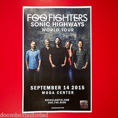 Foo Fighters (Moda Center, Portland, OR, September 14, 2015). Got to share this one with the Bum fam.
