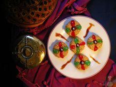 Jeljlaniya (Pastelitos de crema de avellana y sésamo)