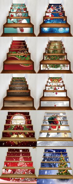 50% OFF Christmas Stair Stickers,Free Shipping Worldwide!