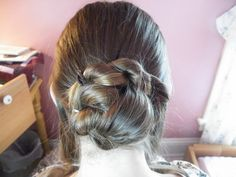 Stitches Of The Past: 1860's hair style tutorial