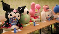 A rendezvous at Sanrio Puroland ^^