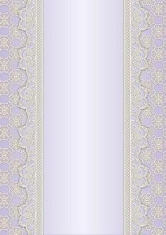 Vintage Lace Panel A4 Background Lilac on Craftsuprint designed by Karen Adair - This is a pretty A4 sized background with a lace edged central panel. Great to line the outside of an A5 sized landscape tent card, or as an insert. Or whatever else you can think of! If you like this, check out my other designs, just click on my name. - Now available for download!