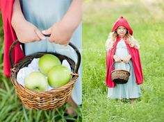 little red riding hood shoot-so cute and simple