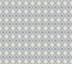Lim och handtryck - Karoline blå