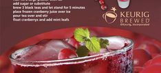 Summer Drink Recipes from Your Keurig Brewer | Trademark Vending & Office Coffee Services