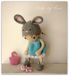 Amigurumi Crochet Doll -Lily by Rusi Dolls
