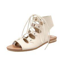 64fe9085c1504b Plus 2017 New Women Sandals Designer Black Gladiator Sandals Peep toe Retro  Style Shoes Summer Women s Flats