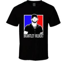 Brantley Gilbert Sexy American Country Rock Singer Artist Concert Fan Poster T Shirt
