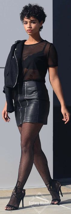 Fishnet // Fashion Look by Aiyana A. Lewis