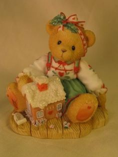Amazon.com: Cherished Teddies.......... Sharon... Sweetness Pours From my Heart: Home & Kitchen