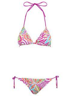 2ae5692f680f3 MissSelfridge Bikini Triángulo, Armario De Verano, Traje De Baño De Bikini,  Remolinos,