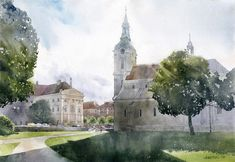 Poland here: The magnificent watercolour art by Grzegorz Wrobel