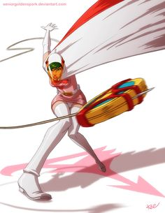 Gatchaman: Princess (Jun the Swan), by ~seniorgoldenspork on deviantART