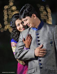 "Photo from Shivam Patel Photography ""Wedding photography"" album Indian Wedding Poses, Indian Wedding Couple Photography, Wedding Couple Photos, Wedding Couples, Photography Couples, Indian Wedding Receptions, Bride Indian, Photo Poses For Couples, Couple Photoshoot Poses"
