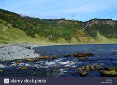 Beautiful Veiw Of Bearreraig Bay In Scotland The Sea Cliffs Looming Stock Photo, Royalty Free Image: 109549444 - Alamy