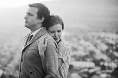 A stunning engagement photo | Marianne Wilson Associates @Marianne Sanada (formerly Wilson)