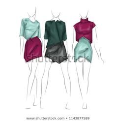 Find Fashion Figure Sketch stock images in HD and millions of other royalty-free stock photos, illustrations and vectors in the Shutterstock collection. Figure Sketching, Fashion Figures, Royalty Free Stock Photos, Image, Collection, Croquis