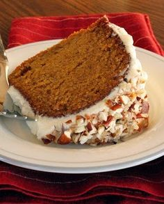 Cinderella Pumpkin Cake Recipe ~ I made this last night it turned out perfectly! . Best pumpkin cake ever. I used heaping teaspoonfuls of cinnamon and a dash of pumpkin pie spice, otherwise exactly like yours. Now I have the best pumpkin bread, pie and cake recipes.