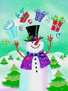 Зима и Рождество в картинках Janet Skiles. Обсуждение на LiveInternet - Российский Сервис Онлайн-Дневников