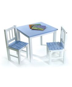 1cc9e45178fa7 Another great find on  zulily! Blue Kids  Table  amp  Chair Set