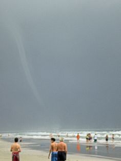 Waterspout In Port Aransas, Texas