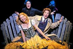Young Frankenstein - Christopher Fitzgerald, Sutton Foster & Roger Bart would love to play the lead female