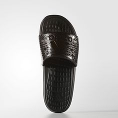 9d53e09defdcd7 adidas - Voloomix Graphic Slides Black Adidas
