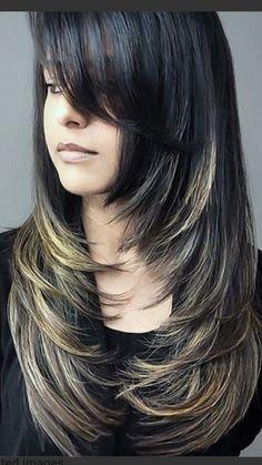 Haircuts For Long Hair With Layers, Haircuts Straight Hair, Haircuts For Medium Hair, Long Layered Haircuts, Long Hair With Bangs, Long Hair Cuts, Medium Hair Styles, Curly Hair Styles, Hair Upstyles