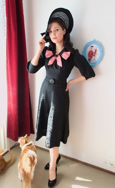 Vintage Follies: Sew for Victory: finished dress