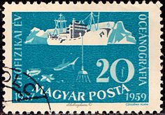 Deep Sea, Postage Stamps, Hungary, Europe, Poster, Seals, World, Banknote, Stamps