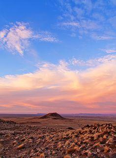 Volcano Sunset - Albuquerque, NM Beautiful foto. #rescuemission