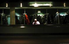 the cloakroom, 2013 by Edo Zollo