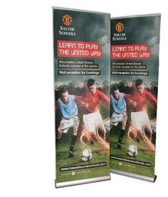 Sidewinder SINGLE Roller Banner Stands Cassettes with Graphics