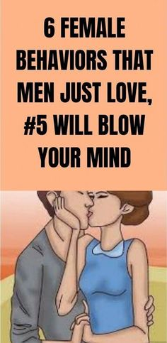 6 FEMALE BEHAVIORS THAT MEN JUST LOVE, #5 WILL BLOW YOUR MIND Man In Love, Just Love, Love Her, Medicine Book, Herbal Medicine, Natural Medicine, Love You Unconditionally, Blow Your Mind, Feeling Loved