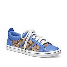 COACH Alivia Sneakers :) Love The Blue Need These!