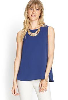 Classic Woven Tank | FOREVER21 - 2000087340 $9.80