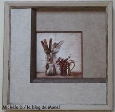 MICHELE D. /ELEVE DE MANEL / TRIO DE BISEAUX France, Blog, Home Decor, Picture Frame, Frames, Fantasy, Painted Canvas, Decoration Home, Room Decor