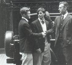 Chris Carmack, Ian Bradner and Bruce Hulse