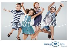 Ads Hering Kids developed to publicize the new collection Spring Summer 2010 based on new brand values.