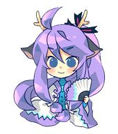 gakupo chibi Long Purple Hair, Gakupo Kamui, Vocaloid, Princess Peach, Sonic The Hedgehog, Samurai, Chibi, Singers, Cartoons