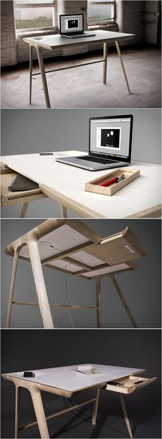 New Wood Desk Plans Products Ideas Office Furniture, Wood Furniture, Modern Furniture, Furniture Design, Furniture Ideas, Furniture Buyers, Small Furniture, Furniture Stores, Desk Inspiration