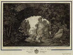 View of the Temple in Arkadia by Jan Zachariasz Frey after Zygmunt Vogel, 1806 (PD-art/old), Biblioteka Narodowa