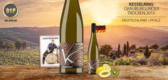 91P Kesselring Grauburgunder trocken 2015 aus Ellerstadt - http://weinblog.belvini.de/kesselring-grauburgunder-trocken