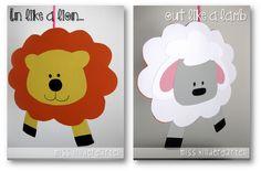 Miss Kindergarten: In Like a Lion...Out Like a Lamb