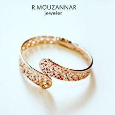 #gold #bracelet#18kt #italianjewelry#piupiu##rmouzannar #beirut #lebanon