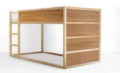 KURA - Woodgrains | PANYL Great way to update KURA bed to last beyond childhood