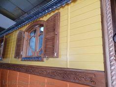 Garage Doors, Outdoor Decor, Home Decor, Gypsy Wagon, Decoration Home, Room Decor, Home Interior Design, Carriage Doors, Home Decoration