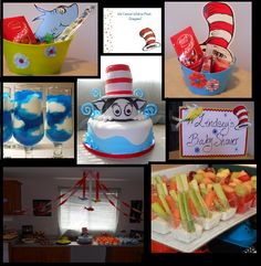 dr seuss baby shower. Prizes